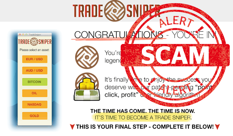 Software Estafa de Trade Sniper