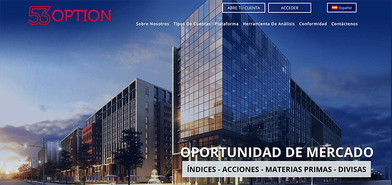 plataformade opciones binarias - 53option