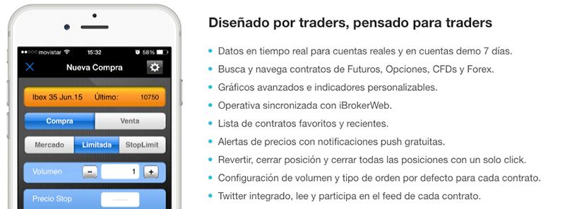 aplicaciones de trading para iOS y Android