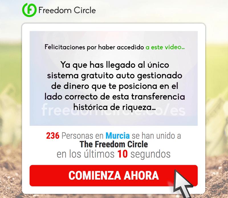 que es y como funciona the freedom circle