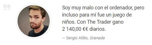 testimonio falso de Sergio Atilio