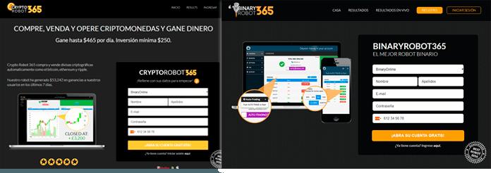 plataforma BinaryRobot365