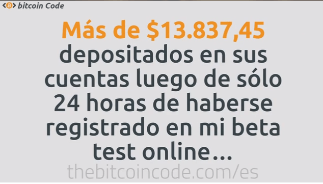 review sobre la estafa BitcoinCode