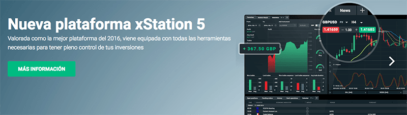 trading con xStation5 - XTB