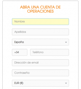 Abrir una cuenta en BCM