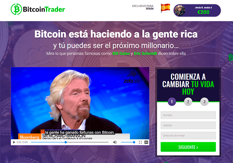 software de trading bitcointrader - estafa