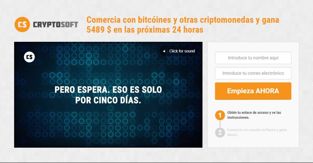 cryptosoft no da ganancias