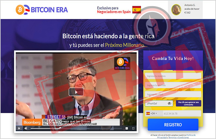 Bitcoin era utiliza un video de promoción