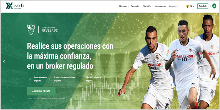 pagina web oficial de everfx global